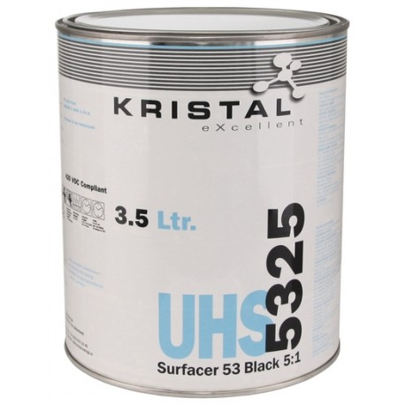 KRISTAL eXcellent UHS Surfacer 5325 5:1 Black